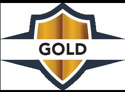 Badges gold
